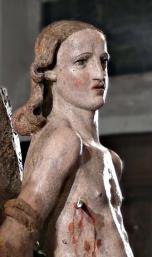 Saint Sébastien, détail