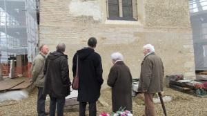 Visite du site de Neublans - Eglise et chateau - 30 mars 2015 (10)