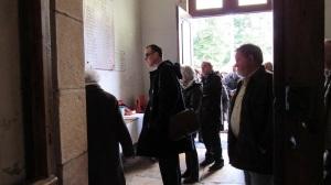 Visite du site de Neublans - Eglise et chateau - 30 mars 2015 (20)