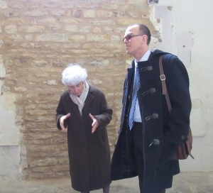 Visite du site de Neublans - Eglise et chateau - 30 mars 2015 (22)