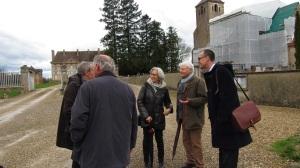 Visite du site de Neublans - Eglise et chateau - 30 mars 2015 (3)