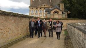 Visite du site de Neublans - Eglise et chateau - 30 mars 2015 (54)